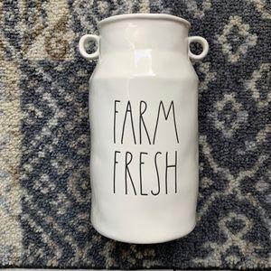 Rae Dunn FARM FRESH Vase